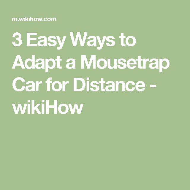 15 Best Mouse Trap Cars Images On Pinterest School Projects