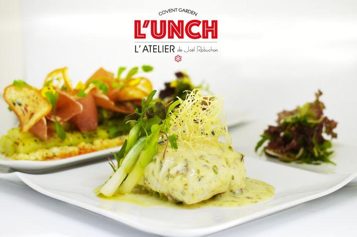 French Restaurant Menu | LUNCH Menu | Fine Dining | L'Atelier Joel Robuchon, Covent Garden