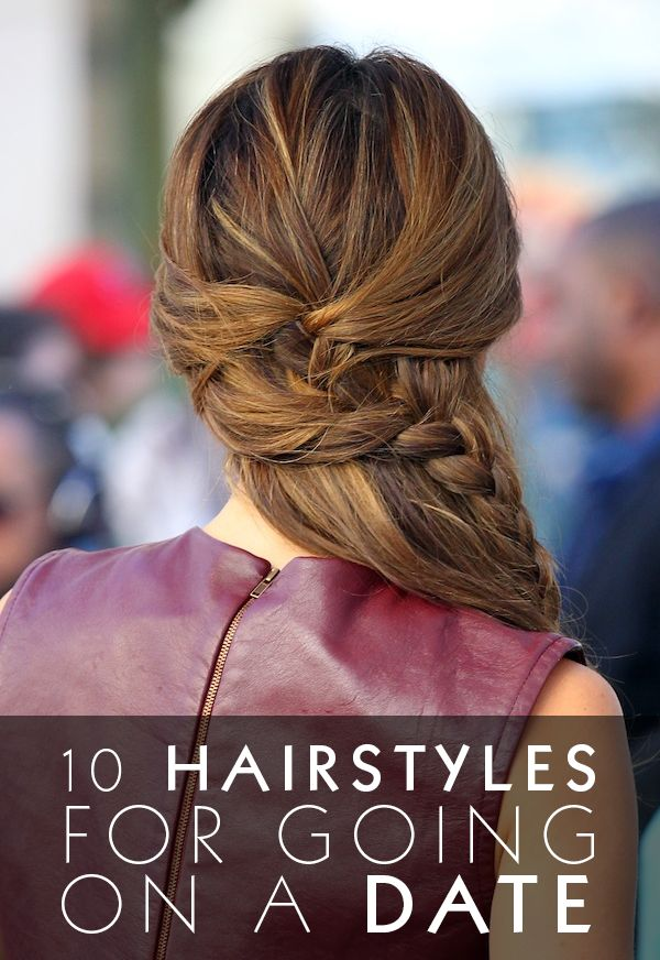 date hairstyles: Hair Ideas, 10 Hairstyles, Half Up, Hair Styles, Dates, Makeup, Braids, Date Nights, Beauty