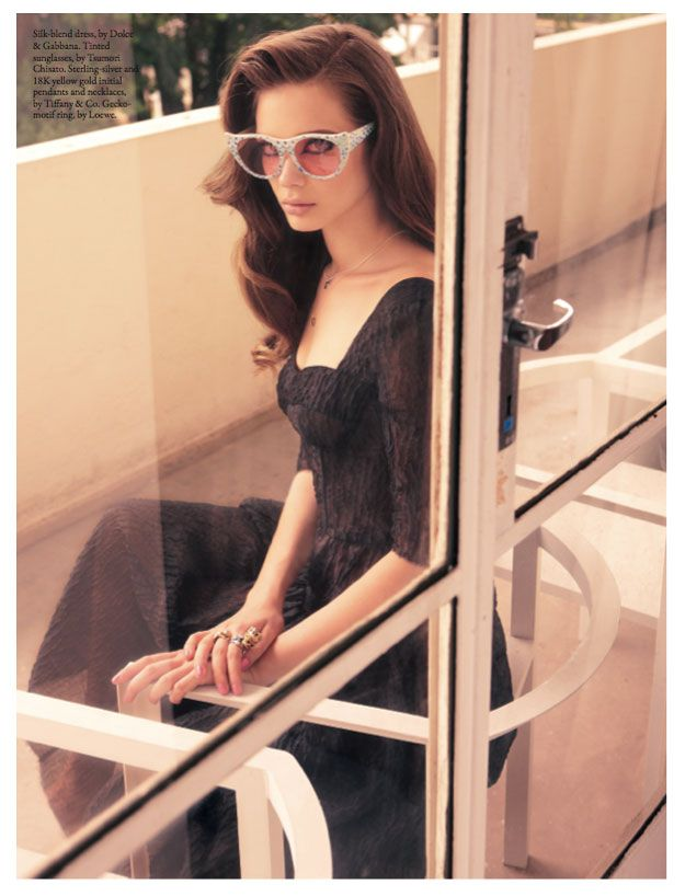 Wee Khim Captures Lana del Rey Inspired Fashions for Style Singapore May 2012