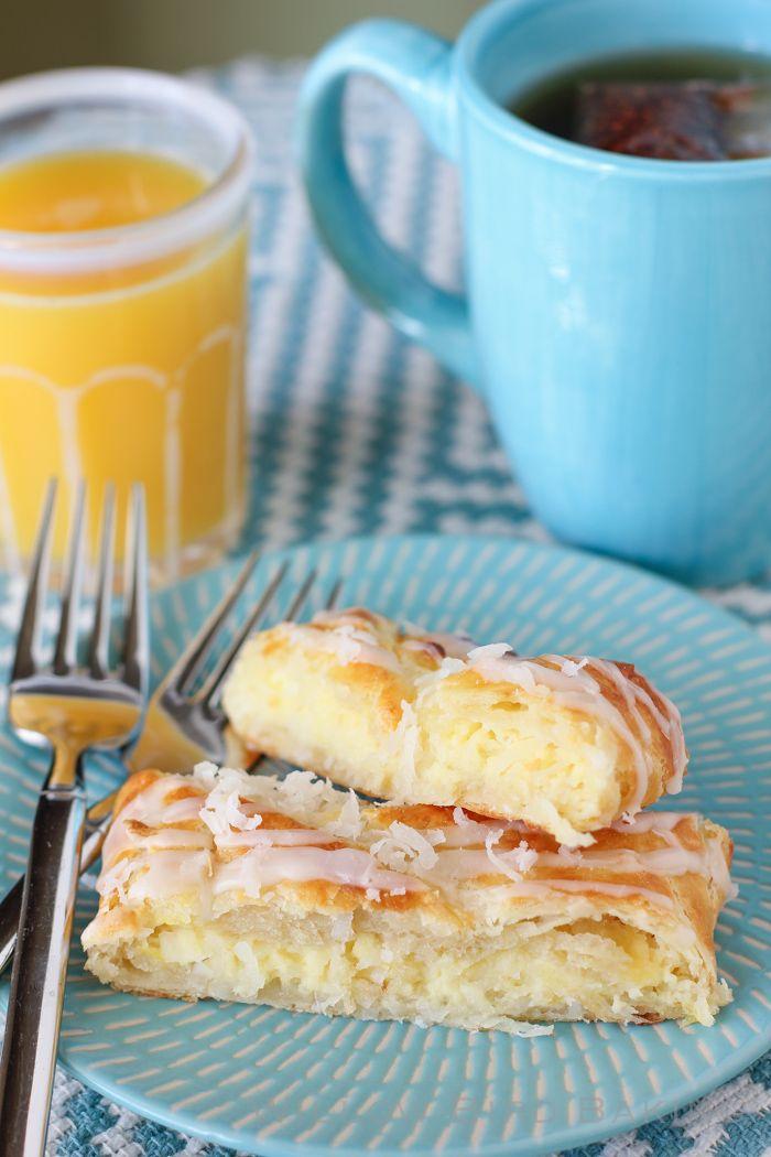 Coconut Cheesecake Breakfast Braid