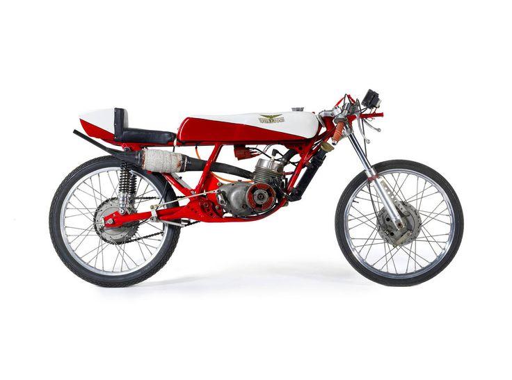 1970 Guazzoni 50cc Production Racing Motorcycle