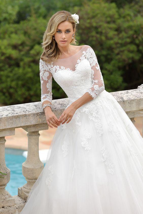 صور فساتين زفاف مختارة من أجمل موديلات سنة 2019 بفبوف Wedding Dresses Wedding Dresses Mn Bridal Wedding Dresses