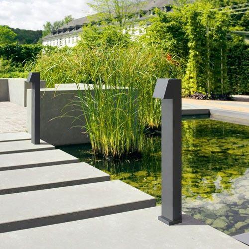 Led Garden And Pathway Bollard B77237 B77238 Outdoor
