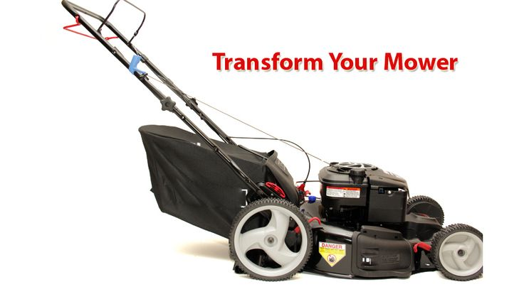 """Abletotech helps you pick up leaves and small particles with its """"Big Leaf Bag"""" that makes lawnmower into lawn and leaf vaccum. Made from extra durable poyster, it is tough and will last long."""