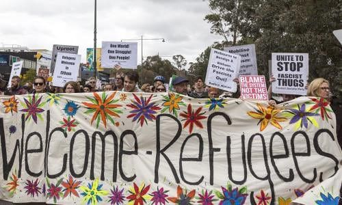 Ian Rintoul says there is 'a small army of people' ready to help refugees and asylum seekers affected by changes to visa rules.