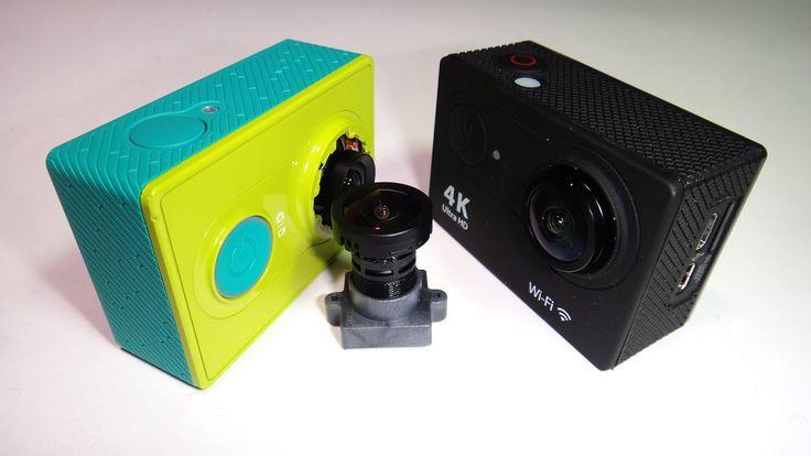 Линза для экшн камеры Xiaomi Yi