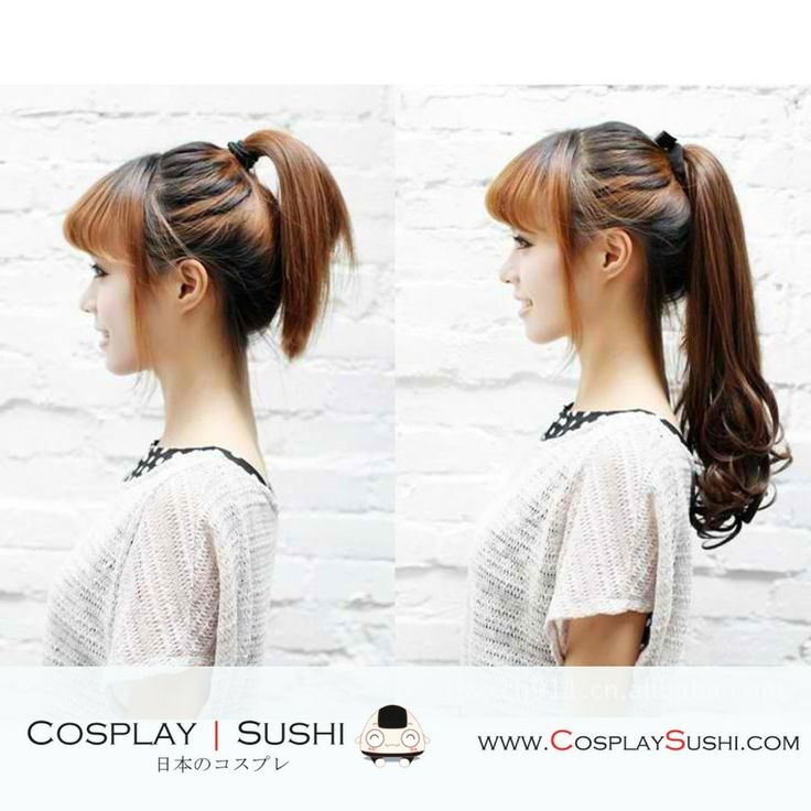 New Hyo-Ju 5 Colors Ponytail <3 GET YOUR NOW! http://cosplaysushi.com/collections/ponytail/products/new-hyo-ju-5-colors-ponytail-cs192 #cosplay #wigs #brown #ponytail