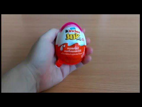 Kinder Joy Surprise Egg for girls - 2015 #3 - YouTube