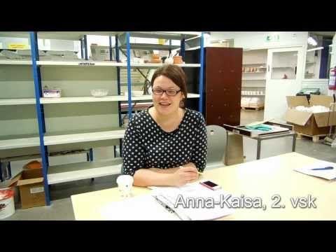 Emmi, viikko 3: Muotoilun opiskelijoiden esittely (design)