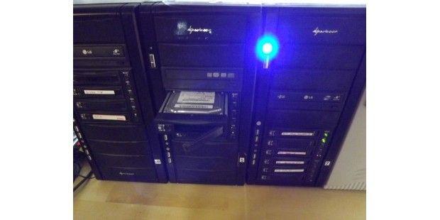 Einschubplatten haben sich zur Datensicherung bewährt.
