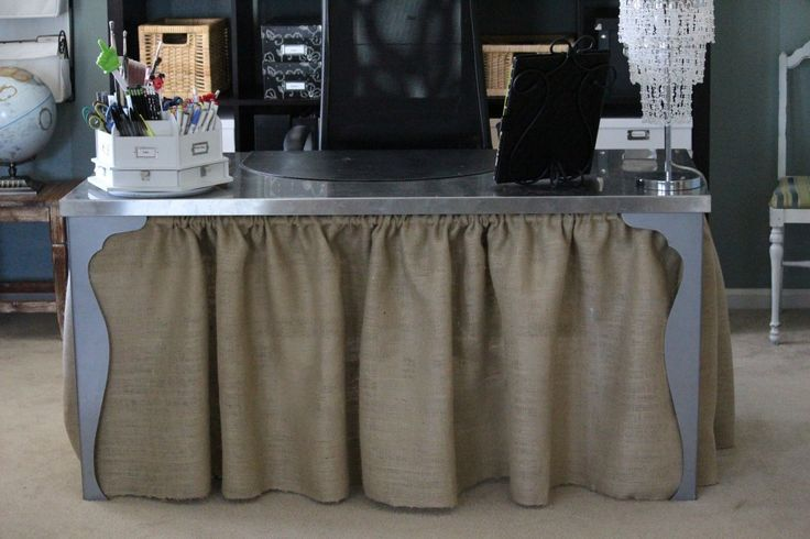 Best 25 Desk Skirt Ideas On Pinterest Party Table