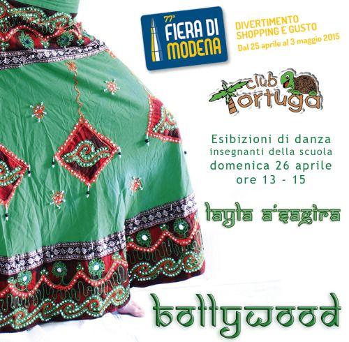 Esibizione di Bollywood presso la Fiera di Modena