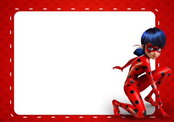 Convite Miraculous Ladybug 2