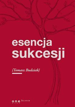 """""""Esencja sukcesji"""" to książka napisana przez wieloletniego doradcę polskich rodzin przedsiębiorców - Tomasza Budziaka, autora bestsellera z dziedziny ekonomicznej """"Sukcesja w rodzinie biznesowej. Spojrzenie praktyczne"""". Może ona stanowić ciekawy poradnik dla osób dotykających bezpośrednio zagadnienia firm rodzinnych. W dziedzinie biznesu sukcesja, oznacza przekazanie zarządu oraz własności firmy w młodsze pokolenie."""