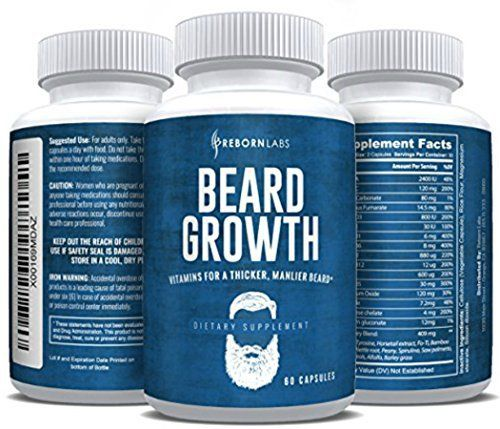 Do You Want a Fuller, Thicker, & Healthier Beard? You know what's interesting? You can tell a lot about a man by the type of beard he has. Some beards show sophistication & wisdom while others show strength & dominance. Some beards can even make you seem independent &... more details at http://supplements.occupationalhealthandsafetyprofessionals.com/vitamins/hair-skin-nails-complex/product-review-for-beard-growth-supplement-with-vitamins-for-a-fuller-long