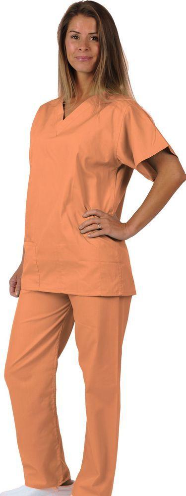 Fancy Dress Costume OITNB Prison/Jail/Convict Scrub Set Orange Halloween Party!! | eBay