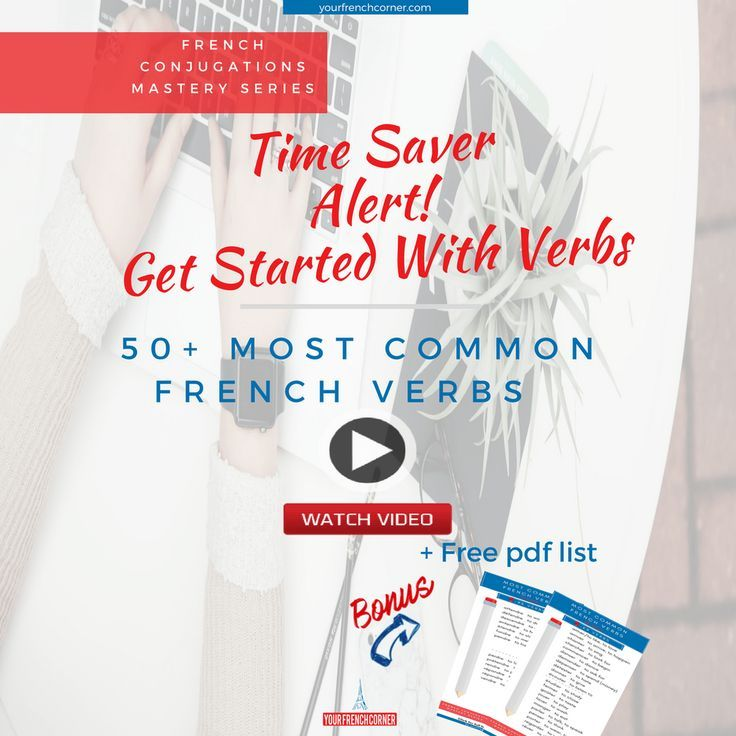 Time Saver Alert: Get Started With Verbs (and 50+ Most Common Verbs) #fle #fsl