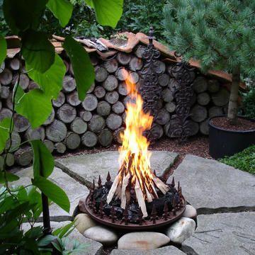Feuerstelle Im Garten Gestalten. kräuterschnecke garten (garden ...