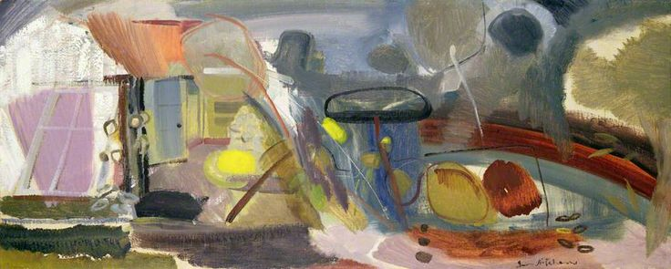 Tangled Pool by Ivon Hitchens The Mercer Art Gallery, Harrogate Date painted: 1948 Oil on canvas, 51.2 x 129 cm