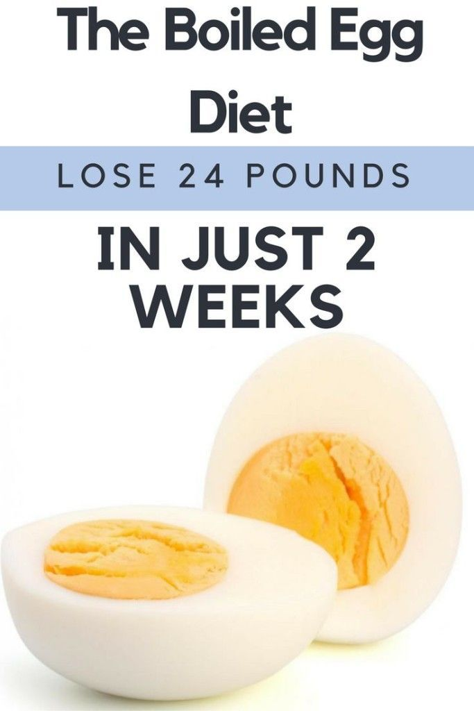 Boiled Eggs Diet
