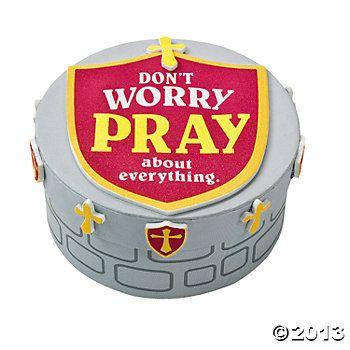 Kingdom Rock craft for day 3. Prayer Box Craft Kit