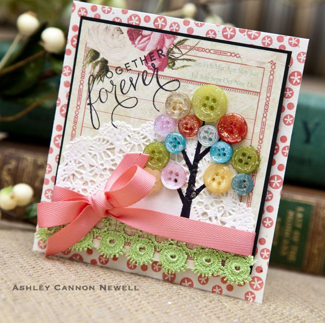 Craft Card Making Ideas Part - 40: Papertrey U0026 Project Favorites. Button CardsCraft ...