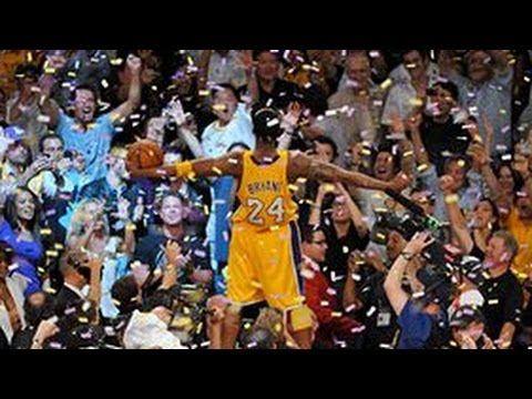 Kobe Bryant's Top 10 Plays of his Career - YouTube