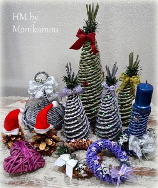 Vianočné dekorácie z papiera / Artmama.sk