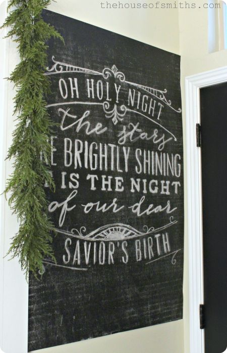 Best Christmas Chalkboard Art Ideas On Pinterest Christmas