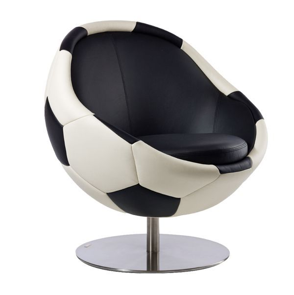 Addicted to soccer?  #soccer #	armchair #industrial-design #design #home #furniture #football