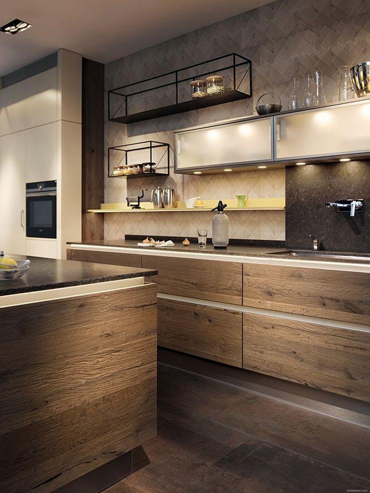 Stylish Industrial Kitchen Design Ideas 35 - HomeKemiri.com