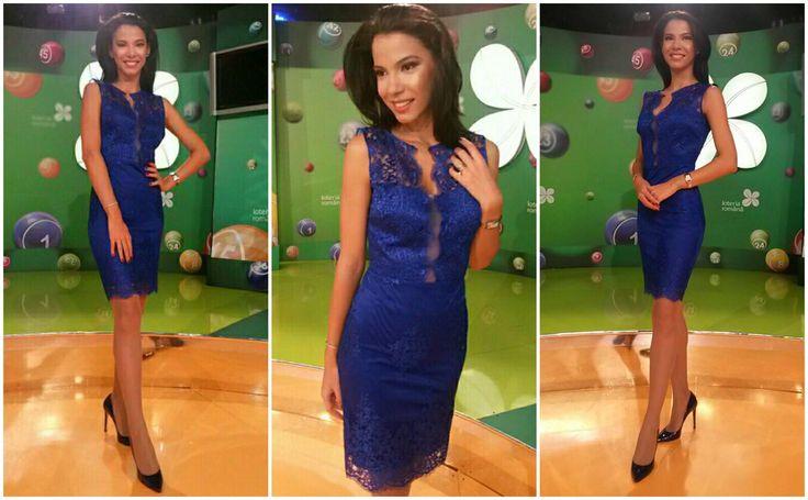 Blue midi lace dress, shop it here: https://missgrey.org/en/dresses/elegant-cone-shaped-blue-lace-dress-ingrid/413?utm_campaign=octombrie&utm_medium=rochie_ingrid_albastra&utm_source=pinterest_produs