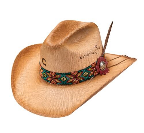 88dd3dee73409 Charlie 1 Horse Gold Digger Straw Hat CSGDR-2134 in 2019