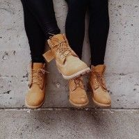 Women Wearing Timberland Steel Toe Boots                                                                                                                                                     More