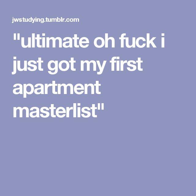 Best 25+ First apartment checklist ideas on Pinterest