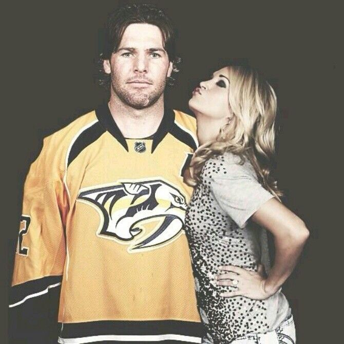 Carrie Underwood and her hubby Mike Fisher
