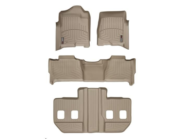 2008 GMC Yukon XL / Yukon Denali XL | Floor Mats - Laser measured floor mats for a perfect fit | WeatherTech.com