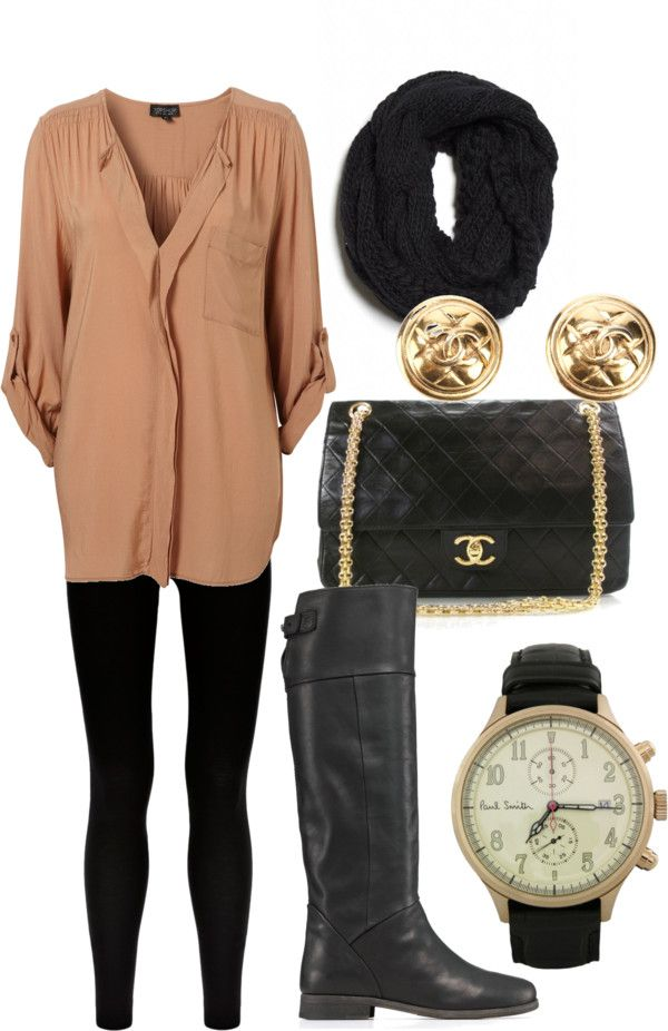 Love this: Blouses, Winter Food, Chanel Bags, Fall Style, Clothing, Fall Wins, Black Boots, Fall Outfits, Fall Shirts