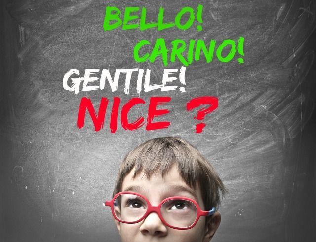 how to speak italian for kids