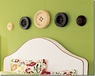 Pottery Barn. Cute, But no longer availableWall Colors, Guest Room, Wall Art, Sewing Room Decor, Buttons Art, Crafts Room, The Crafts, Barns Wood, Pottery Barns