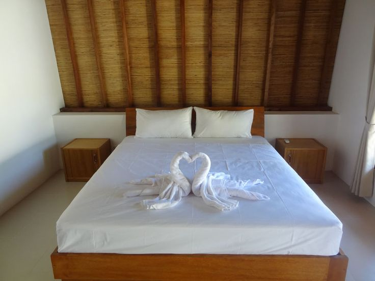 Double bed room – Teras Lombok Bungalow