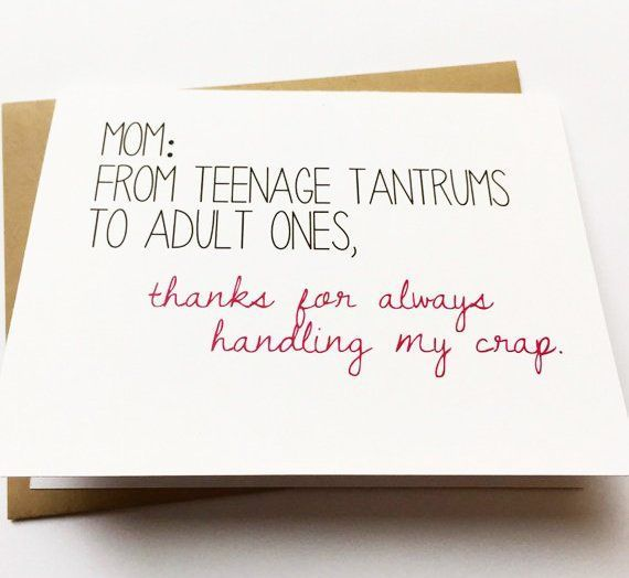 Mom Card Funny Card For Mom Mom Birthday Card Funny Mother S Day Mom From Daughter Mom Cards Mom Birthday Quotes Funny Birthday Cards