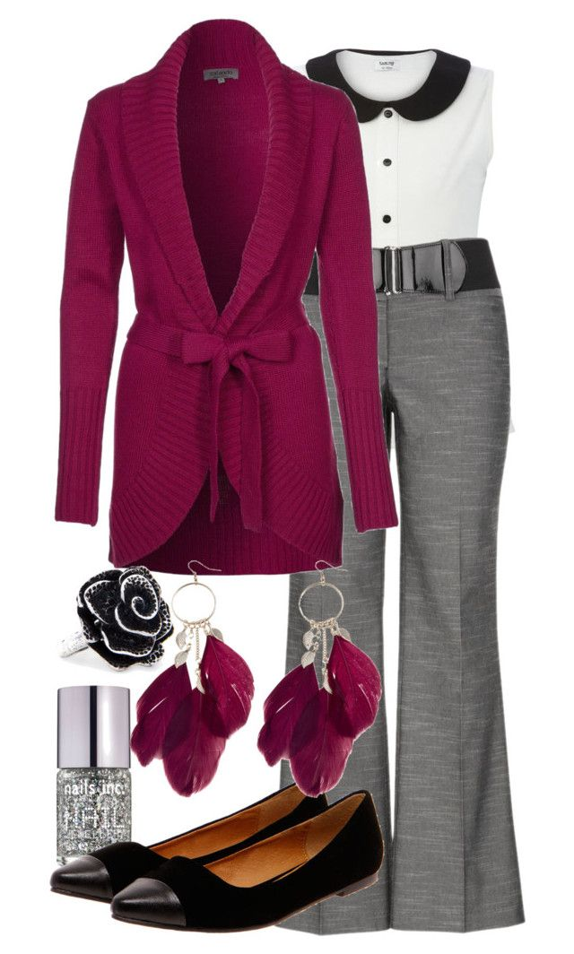 """""""Teacher Outfits on a Teacher's Budget 84"""" by allij28 ❤ liked on Polyvore featuring Nails Inc., Zalando, Boohoo, MANGO, women's clothing, women, female, woman, misses and juniors"""