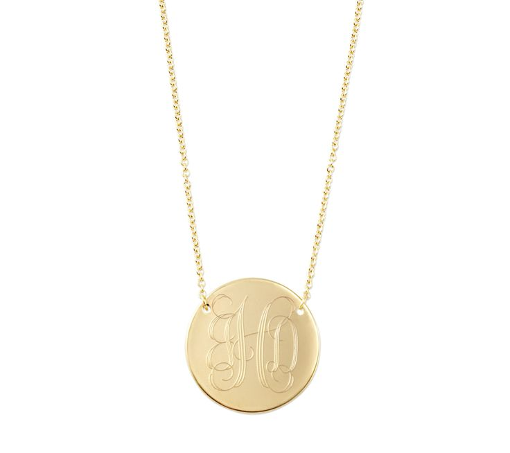 Stella  Dot Engravable gold disc - Share your story with our new personalized collection. Contact your Stylist to place an order today!