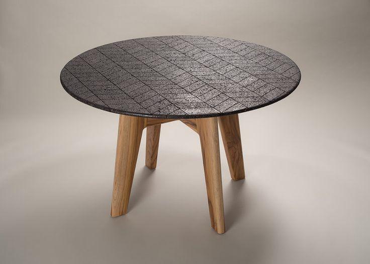 패턴을 더한 현무암 테이블 디자인 -Lava table : 네이버 블로그