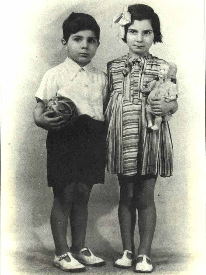 Solange Bendavid deported to Sobibor with her mother and younger brother Albert on Mar. 25, 1943.