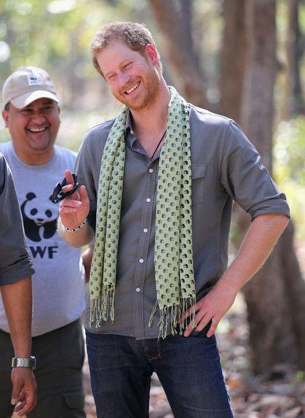 Prince Harry Visits Nepal …