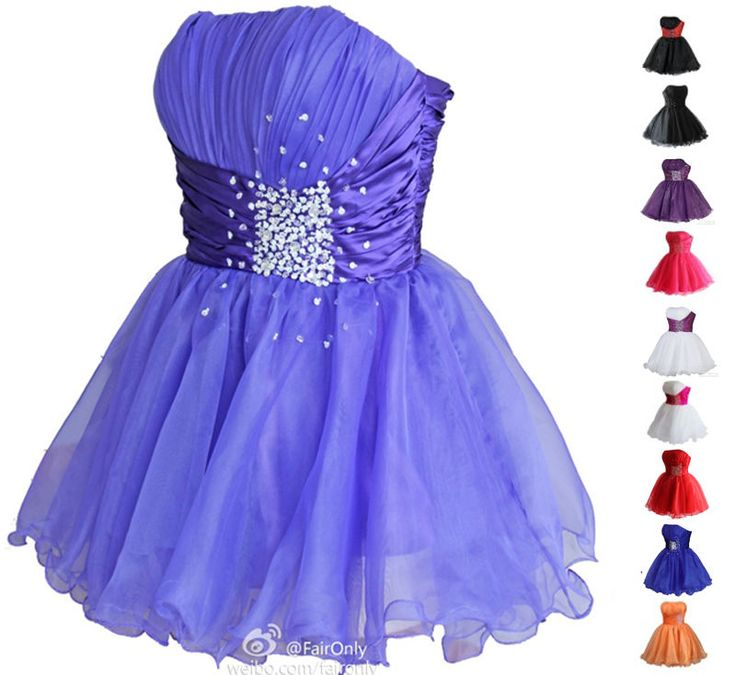 17 best Girl\'s Formal Mini Short Cocktail Party Dresses images on ...