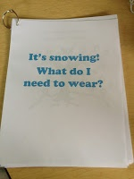 GREAT FREEBIE! Following directions and receptive language with snow theme!   http://www.practicallyspeeching.com/2012/12/it-is-snowing-freebie-following.html